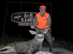 Bill Bouck from Cazenovia, NY and his 2007 Mule Deer